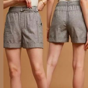 Hei Hei Anthropologie Marnie Belted Shorts Small